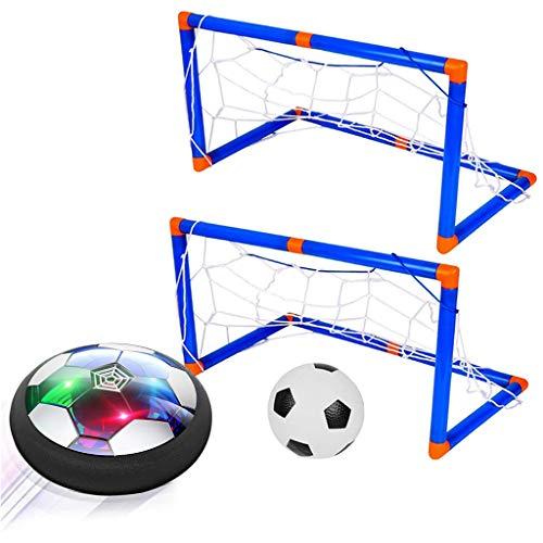 Gogokids Kinderen Speelgoed Hover Voetbal, Kinderen Oplaadbare Voetbal met 2 Poorten, Voetbal Sport Opleiding Binnen Buitenshuis Spellen Grappig cadeau voor Jongens Meisjes Volwassenen