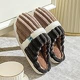 Kirin-1 Pantuflas Animales,Zapatos de algodón Femenino Invierno...