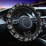 Anime Leaf Steering Wheel Cover Universal 15 inch Neoprene Anti-Slip Car Wheel Protector