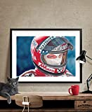 Niki Lauda Poster im Hochformat, A3, matt