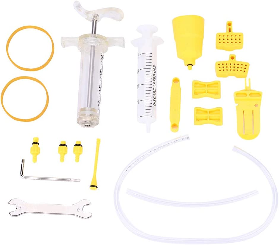 Mail order cheap Brake Bleed Kit Baltimore Mall Tool Professional Br Mineral Oil Hydraulic Disc