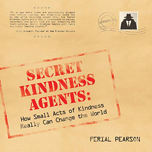 Secret Kindness Agents audiobook cover art