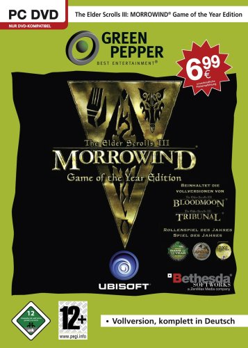 The Elder Scrolls III: Morrowind (Game of the Year Edition) [Green Pepper]