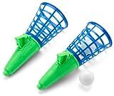 Simba 107215098 - Fangballspiel Doppelset, 3-sort., es wir nur ein Artikel geliefert, 1 Ball, 19cm,...