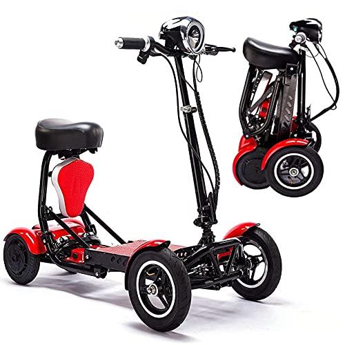Patinete de Movilidad Plegable para Adultos y Personas Mayores, Patinete eléctrico de...