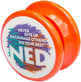 NED® Yo-Yo (Orange) Glow-in-the-dark face