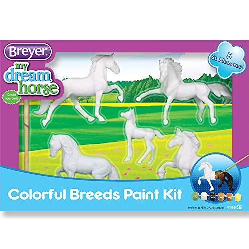 Breyer Stablemates Horse Crazy Colorful Breeds Craft...