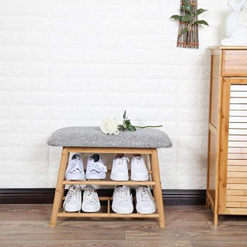 LLLKKK Mueble zapatero de madera maciza para el hogar, color blanco, económico, fácil de poner en el salón, para colocar la puerta del zapatero, 62 x 31 x 44 cm, 62 x 31 x 44 cm