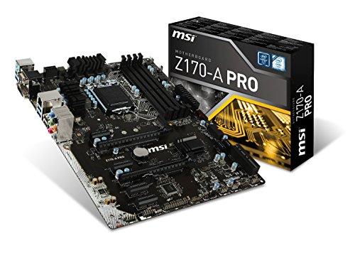 MSI Z170-A PRO Mainboard Intel LGA1151 Socket Aufrüstset schwarz