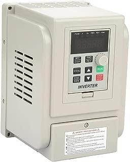 Zyyini Frequency Converter,2.2KW 12A 220V Inverter Single-Phase to Three-Phase Frequency Converter 2.2kw