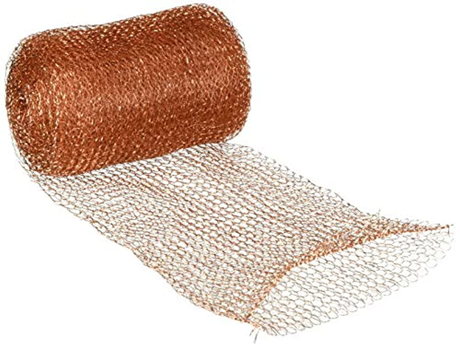 FlyBye DS8015 Copper Mesh for Pests and Bird Control, 20 ft. o924449613