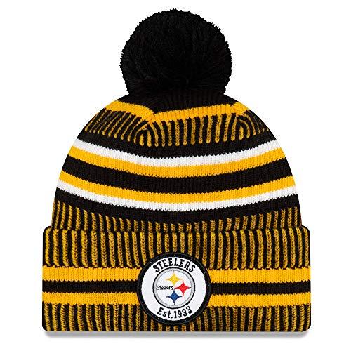 New Era Beanie Pittsburgh Steelers #4033 mit UD Bandana