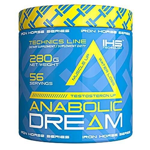Iron Horse Anabolic Dream - Suplemento dietético para el desarrollo muscular - Zinc con 5 formas de creatina - 1 paquete (Orange, 280g)