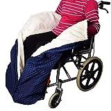 Manta de Invierno para Silla de Ruedas para Adultos, Grueso Cashmere Forro - Resistente al Agua - Antideslizante - Lavable a máquina, Universal para sillas de Ruedas manuales y motorizadas