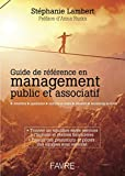 Guide de référence en management public et associatif