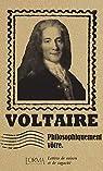Philosophiquement vôtre : Lettres de raison et de sagacité par Voltaire