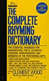 Rhyming Dictionary: Including The Poet's Craft Book