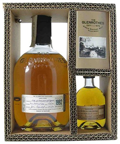 Glenrothes 1992 Vintage w/miniature