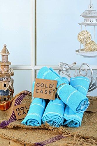 toalla turquesa de la marca Gold Case
