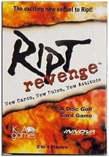 Innova Disc Golf Ript Revenge Disc Golf Card Game