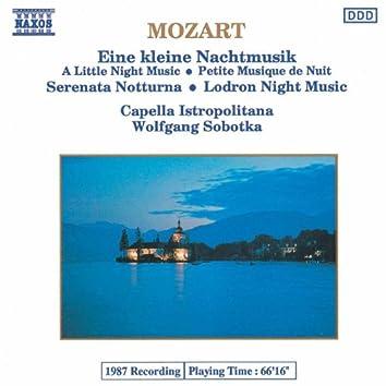 MOZART: Kleine Nachtmusik (Eine) / Serenata Notturna / Divertimento No. 10