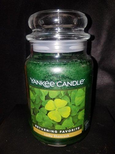 Yankee Candle Lucky Shamrock Large Jar Candle