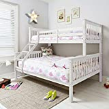 Noa and Nani - Hanna Triple Bed Bunk Bed - (White)