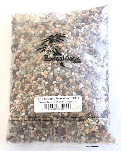 Bonsai Jack Inorganic Bonsai Soil Mix 11011 pH 6.7 (2 Dry Quarts)