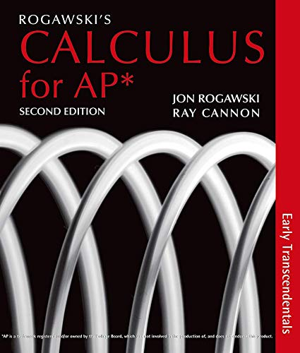 Rogawski?s Calculus for AP*: Early Transcendentals
