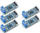 TECNOIOT 5pcs LM358 100 Times Gain Amplification Module Operational Amplifier Module