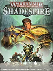 A fast, tactically-exciting 2-player combat game, and a great introduction to the worlds of Warhammer Age of Sigmar	 Accessible – easy to build, push-fit miniatures	 Collectible – based around building the best deck of power and objective cards, out-...