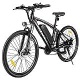 VIVI Bicicleta Eléctrica de Montaña 27,5'' E-Bike Bicicleta Eléctrica para Adultos 500W Bici Electrica con Batería Extraíble De Litio 48V 10Ah, Shimano 21 Velocidades