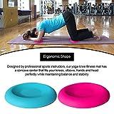 Cuscino per ginocchiere Yoga, confezione da 2, supporto in silicone per ginocchiere Yoga p...