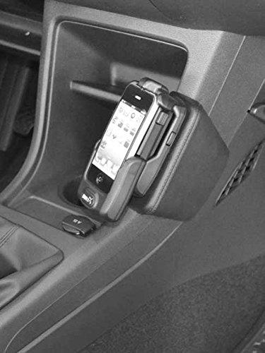 KUDA 096805Car Passive Holder Black Holder–Holders (Mobile Phone/Smartphone, Car, Passive Holder, Black, Leatherette,–VW up 11/2011,–Seat Mii, Skoda Citigo)