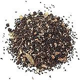 Aromas de Té - Té Chai Negro a Granel con Canela, anís, Jengibre, Clavo, Pimienta Negra, Achicoria y Semillas de Cardamomo, 100 Gr.