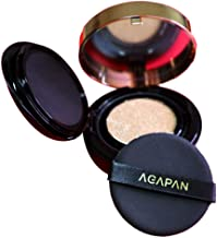 AGAPAN Extreme Cover Cushion Skin Soothing Smooth Texture Moisturizing Wrinkle Care Brightening UV Block (#21)