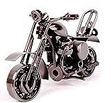 Modèle de Moto de Fer Véhicule Miniature Moto Ornements Modernes Comme Cadeau...