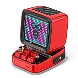 Divoom DITOO レトロPCモニターデザイン Bluetoothスピーカー PIXELART ドット絵 (レッド)