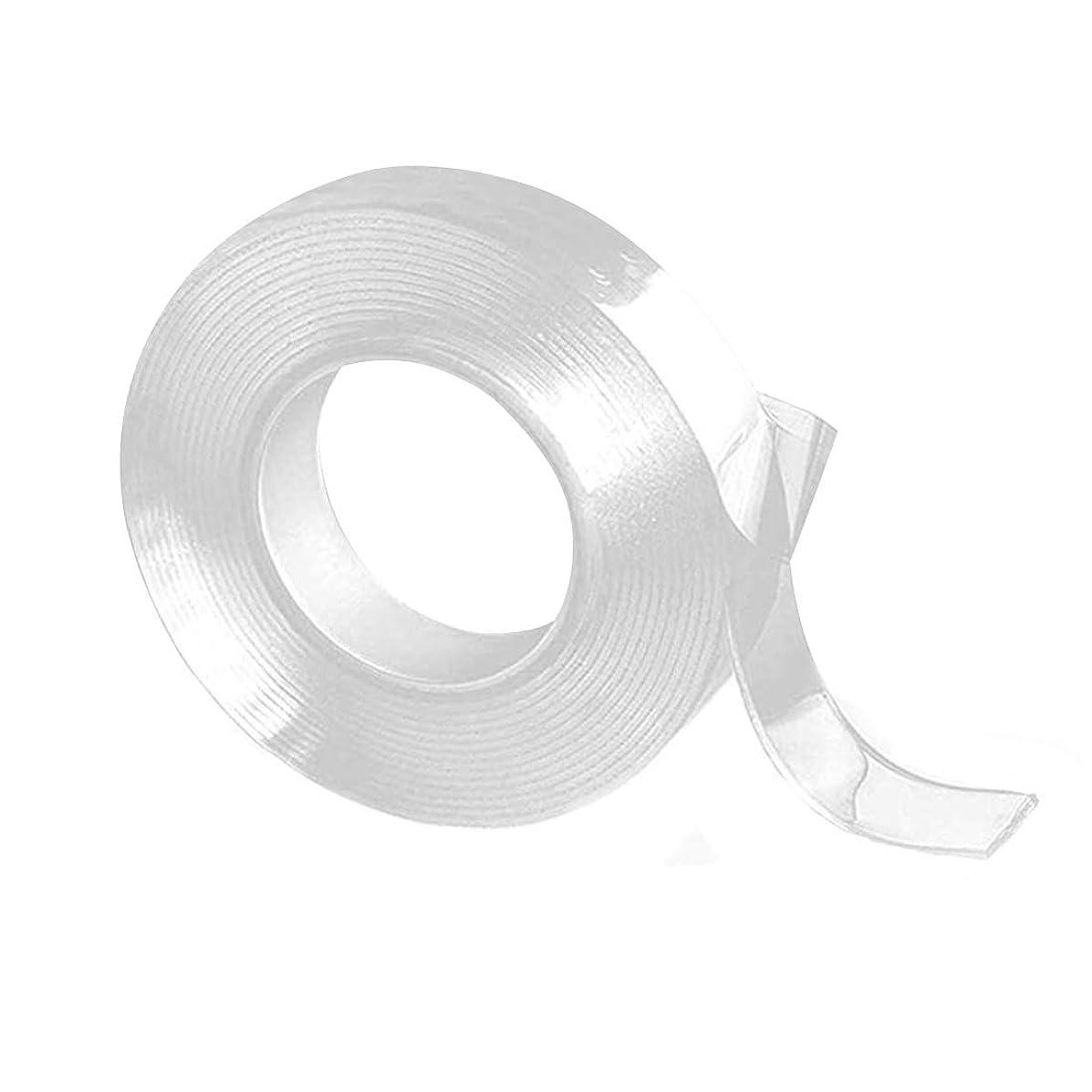 必要既に同行する1個セット 透明 防水 洗濯で繰り返し利用可能 滑り止めテープ 耐熱 粘着マット家庭 オフィス 寮両面テープ