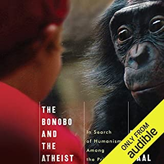 The Bonobo and the Atheist audiobook cover art