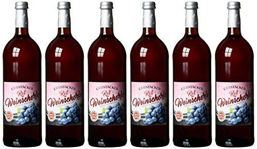 Gerstacker Weinschorle rot Rotweinschorle (6 x 1 l)