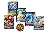5 Random Pokemon Card Lot - Featuring All Ultra Rares 2 V Ultra Rares - 3 GX Rares - 1 Coin GG Value Pack - with Treasure Box!