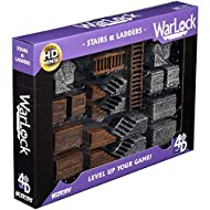 WizKids Warlock Dungeon Tiles: Stairs & Ladders