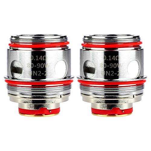 Uwell UN2 Mesh Coils (0,14 Ohm), Verdampferköpfe für e-Zigarette, 2 Stück