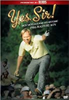 Yes Sir Jack Nicklaus & Historic 1986 Masters [DVD] [Import]