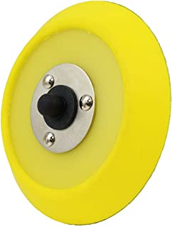 Chemical Guys BUFLC_BP_DA_5 Dual-Action Hook and Loop Molded Urethane Flexible Backing Plate (5 Inch)