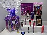 Paquete de 12 piezas de maquillaje y perfume para mujer, Samantha, 2 piezas de perfume, maquillaje, uñas de los pies, cesta de regalo para ella