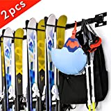 Sunix Ski Storage Rack, Snowboard Wall Rack for Home& Garage...