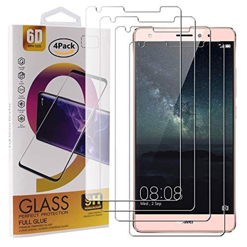 Guran 4 Paquete Cristal Templado Protector de Pantalla para Huawei Mate S...