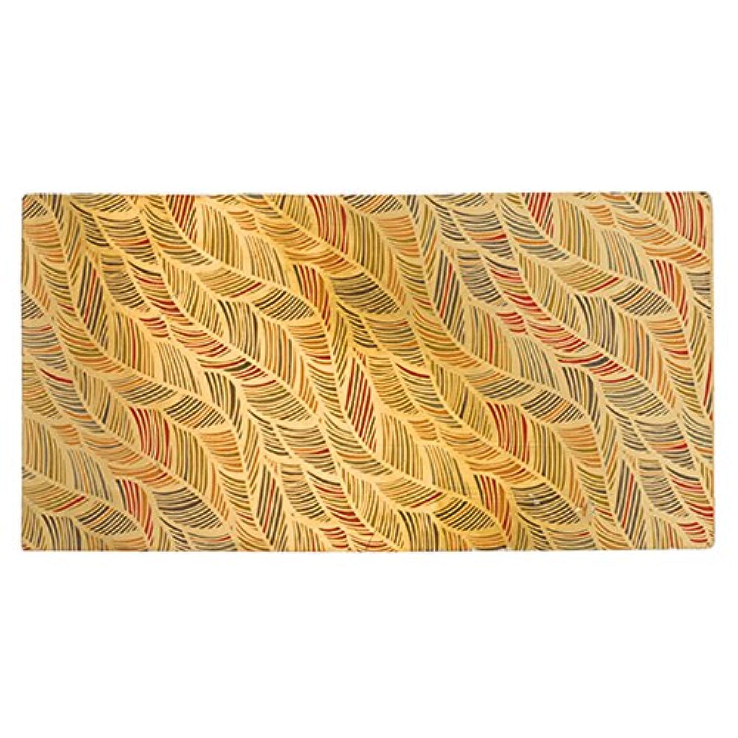 Efco Wax Sheet Feathers Silver, Gold, 20 x 10 x 5 cm